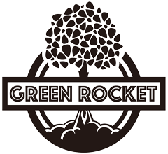 グリーンロケット-ロゴマーク